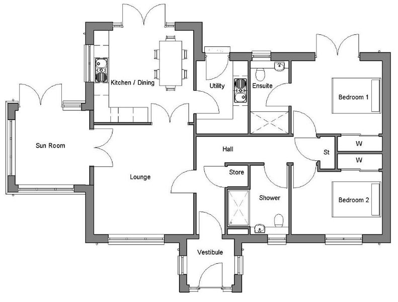 Ardross Floorplans